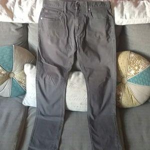 Men's old Navy dark grey skinny pants sz 31/32